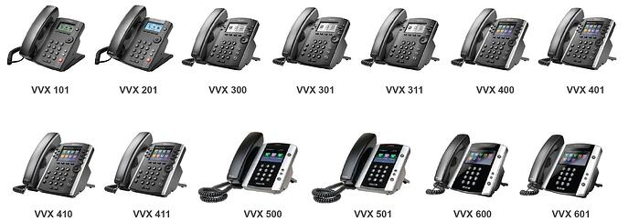 SOUNDPOINT VVX Series